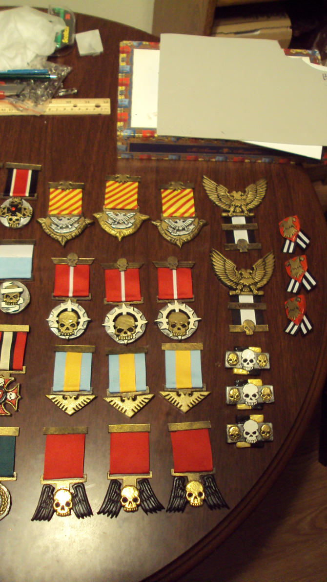 Imperial Guard Medals Part Two by DefenderHecht