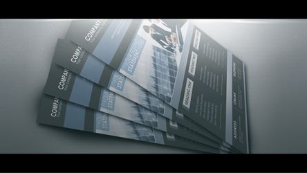 Flyer Mock-up Pack by frozencolor