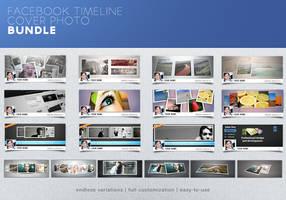 Facebook Timeline Cover Photo Bundle Promo by frozencolor
