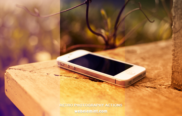 Free Retro Photography Photoshop Actions by frozencolor