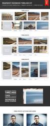 Snapshot Facebook Timeline Kit by frozencolor