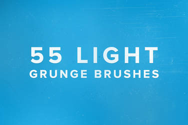 55 Light Grunge Brushes by frozencolor