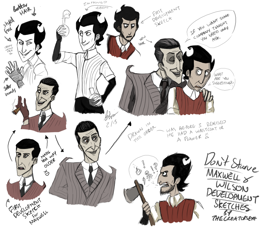 Dont Starve Wilson Maxwell - 0425
