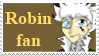 Robin Fan Stamp by KittyCowLexa