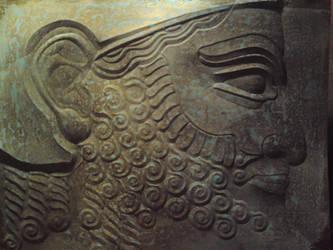 assyrian nobleman by RhouenRhu