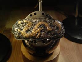 Dragon hairpin by RhouenRhu