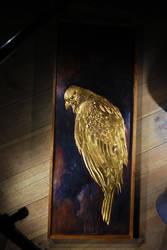 Golden Falcon copper panel