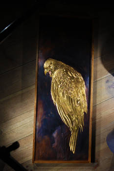 Golden Falcon copper panel