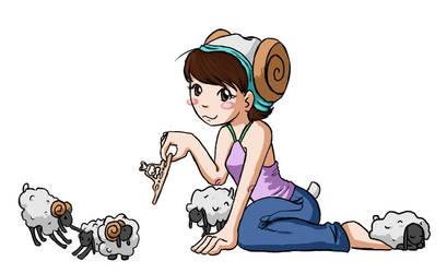 Queen of Sheep by hoshicat