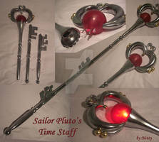 Sailor Moon Pluto Time Staff - Cosplay Prop