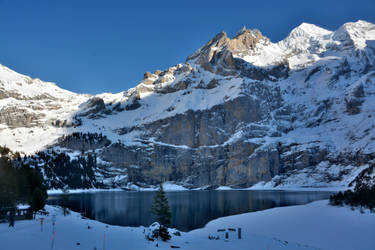 Winter at the Oeschinensee