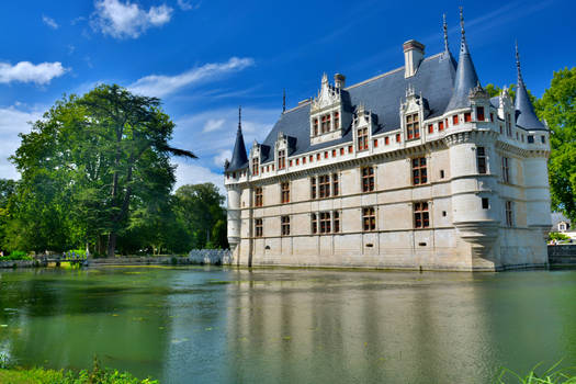 Chateau d'Azay le Rideau
