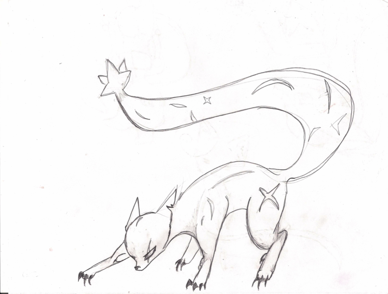 Ninetails' True form by Akibutt on DeviantArt