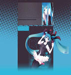 Hatsune Miku Youtube Layout 2 by BeckiizzBaybbiieeXx