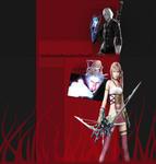 Re-guest Nero And Serah YT BG by BeckiizzBaybbiieeXx