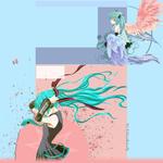 Hatsune Miku FREE YT BG by BeckiizzBaybbiieeXx