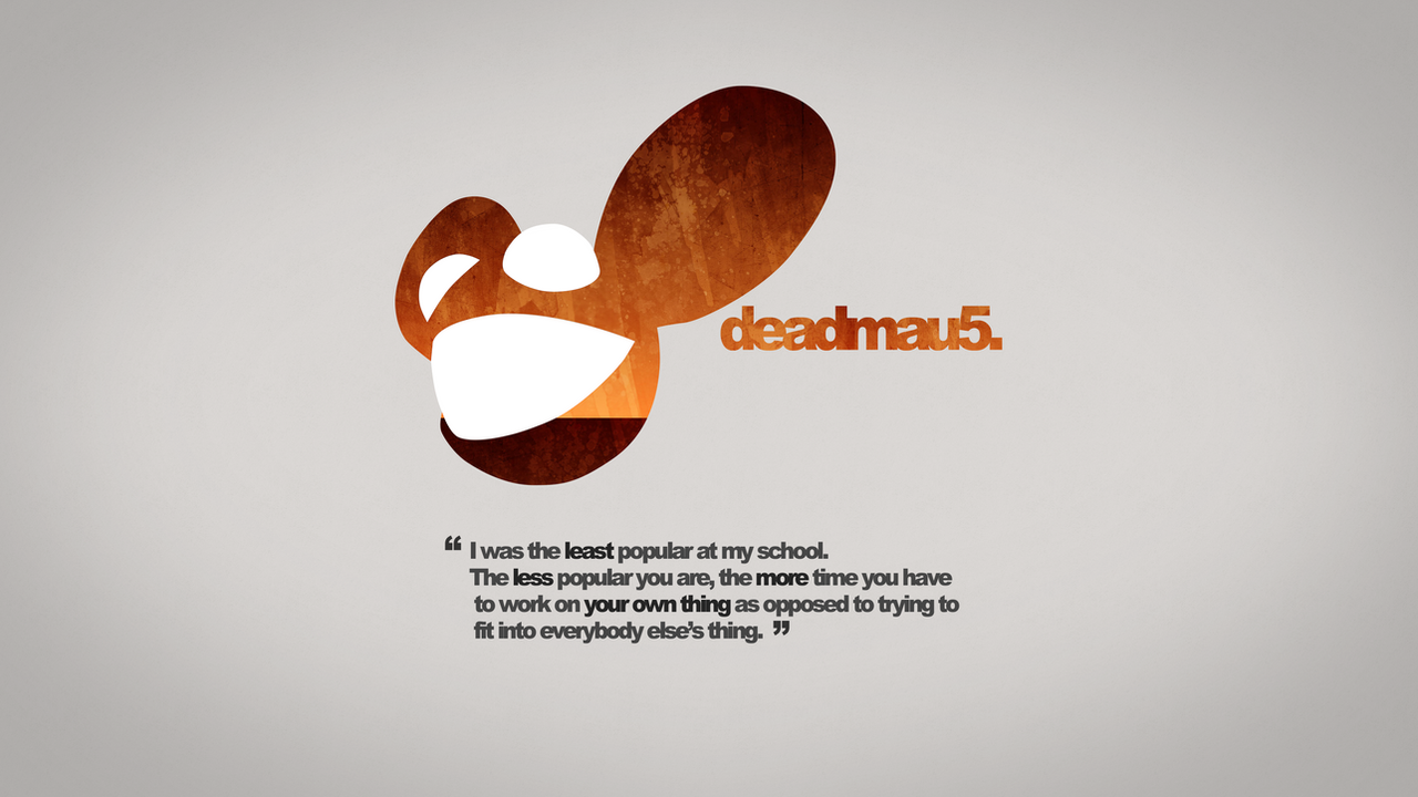 Deadmau5 Quotation Rust Wallpaper 4k By Dashmagic6 On