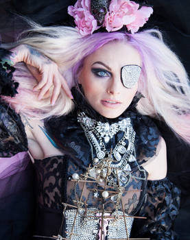 Stock image pink pirate