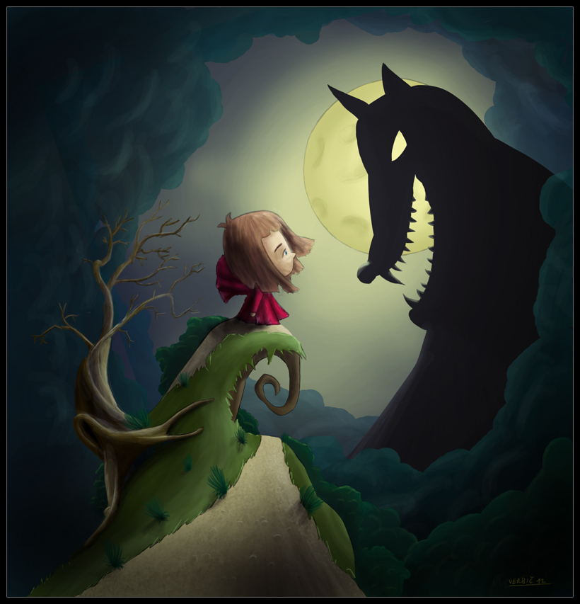 Big Bad Wolf Little Red Riding Hood Images & Pictures - Becuo