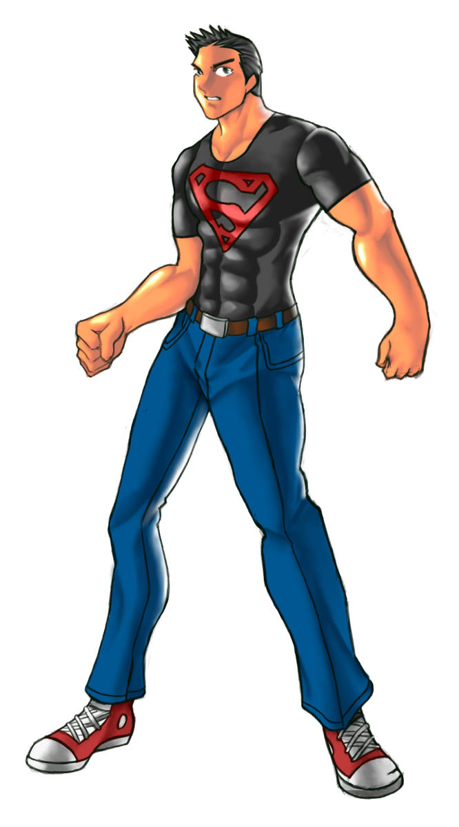 Superboy coloured by rizal82