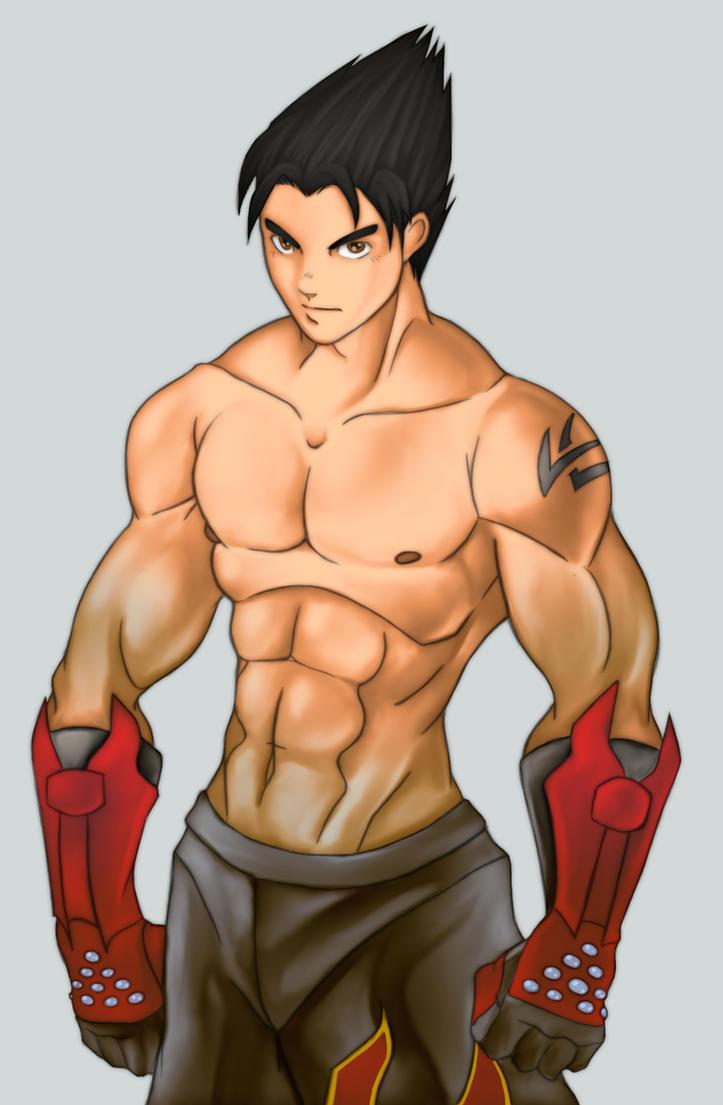 Jin Kazama by rizal82