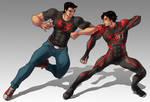 SuperBoy vs new 52 Superboy