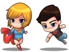 Supergirl new 52 and SuperBooy