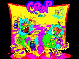 GOOP? FURSONA REFERENCE SHEET | (alebrije monster)