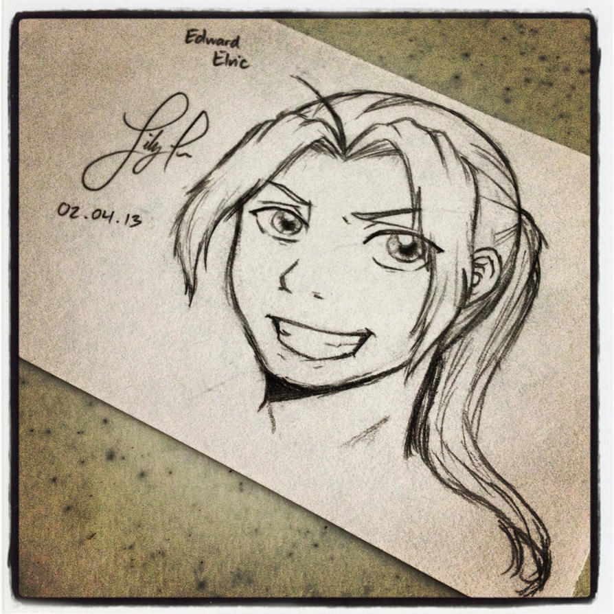 EDWARD ELRIC! by Lilkpopean