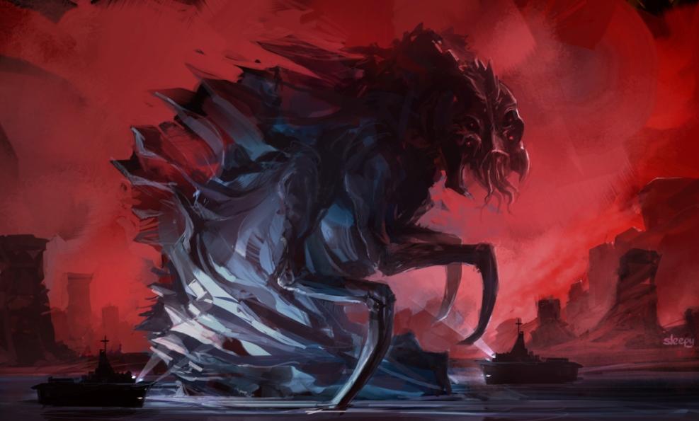 sea monster by sleepy91 on deviantart