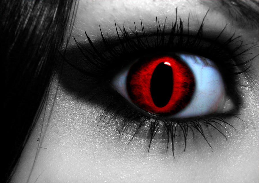 Demon eye by strangebeginnings on DeviantArt
