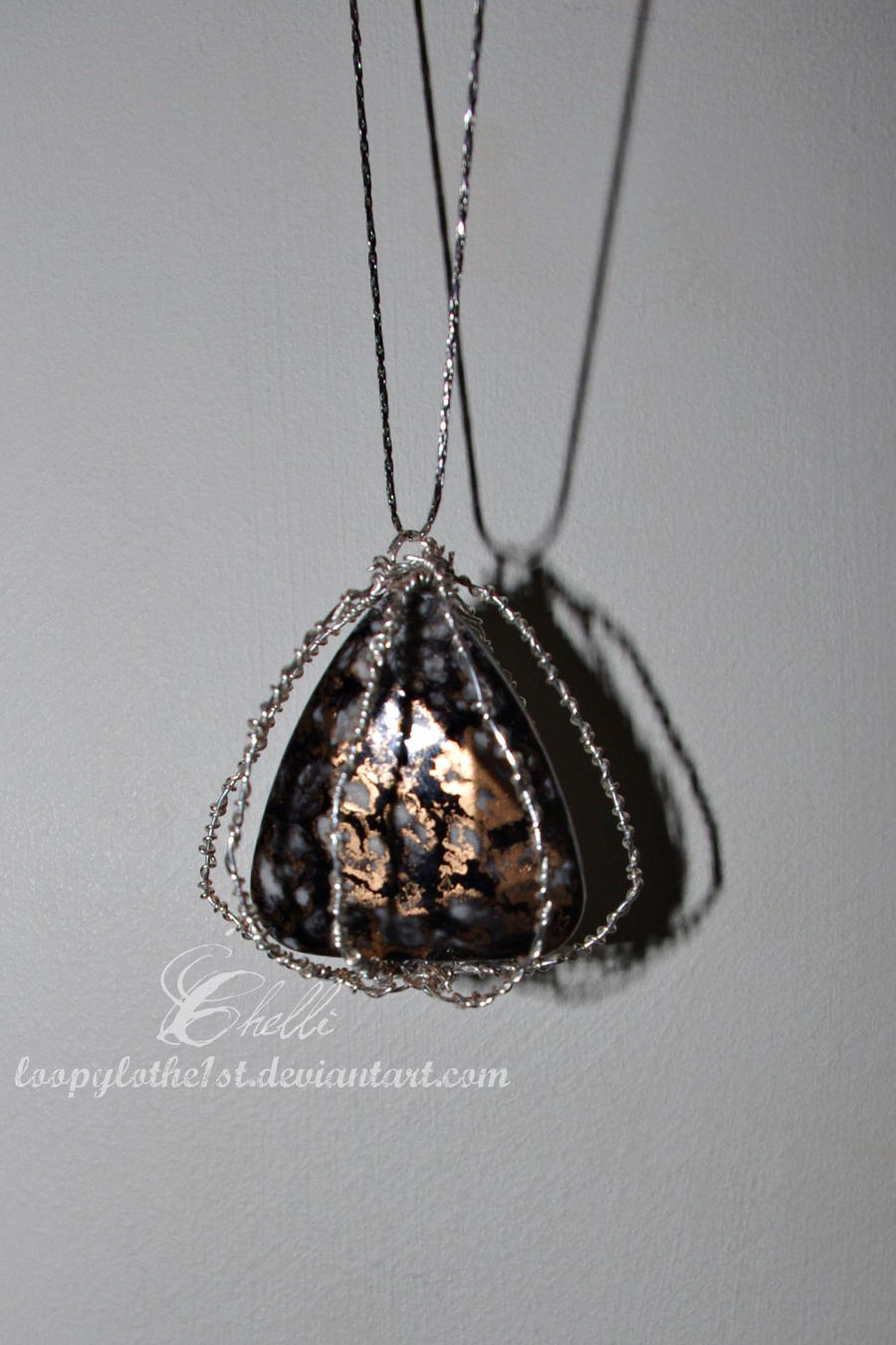 Caged pendant by strangebeginnings