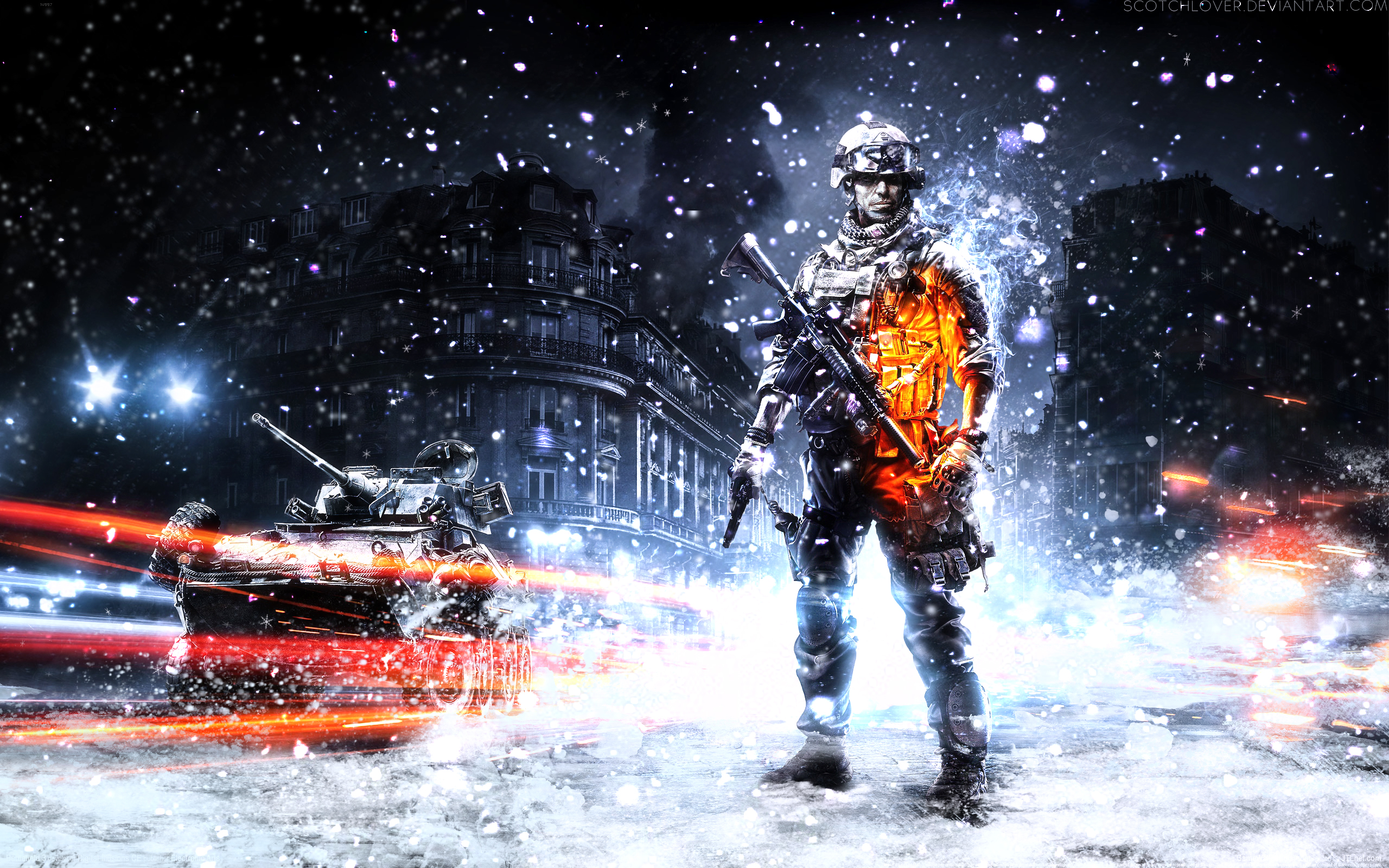 battlefield 3 winter wallpaperscotchlover on deviantart