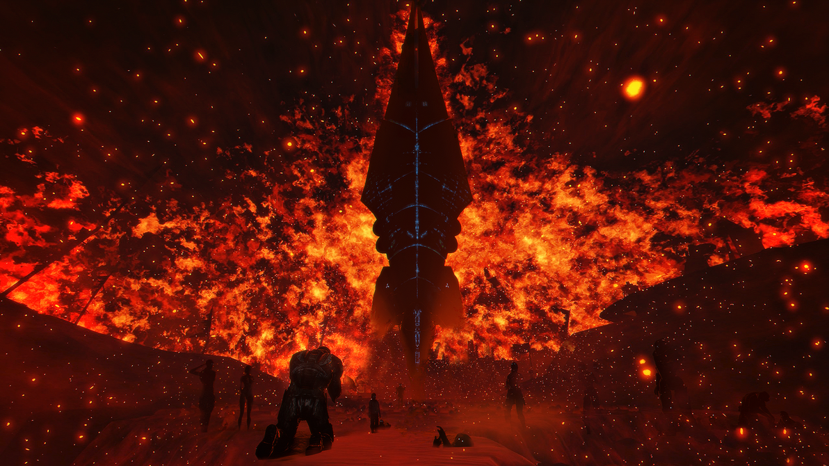 Welcome to Hell, Shepard. by Scotchlover