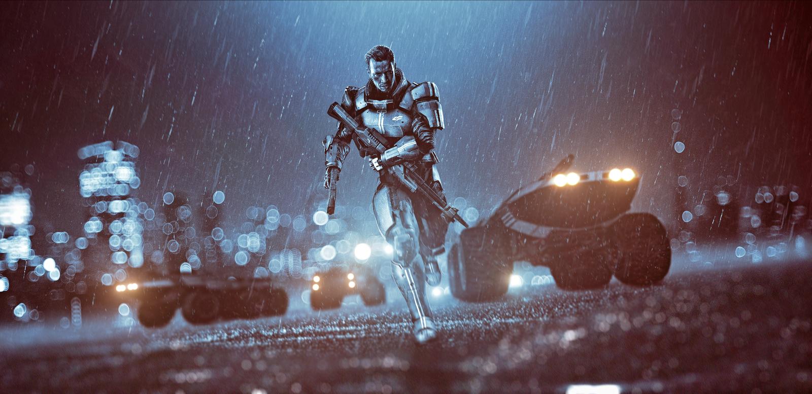 If Mass Effect 4 Were Battlefield 4 - Gameranx-5972