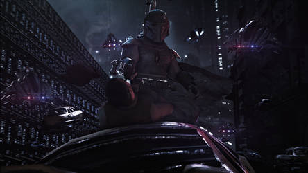 Boba Fett - Dead or Alive, You're Coming With Me