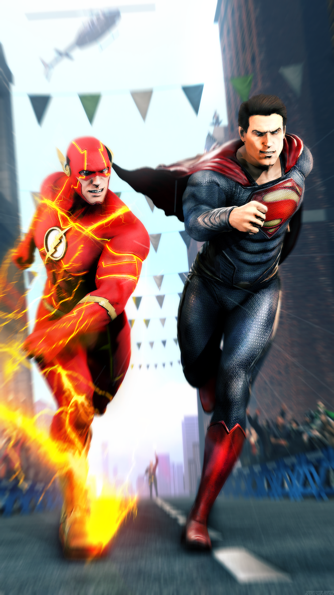 Flash vs Superman: The Fastest Man Alive by Scotchlover on ...