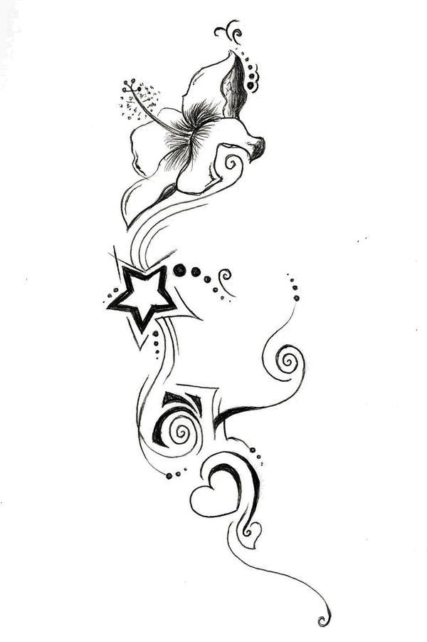 lily star and heart by glidderbug on deviantart. Black Bedroom Furniture Sets. Home Design Ideas