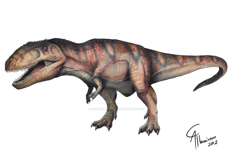 Giganotosaurus carolinii by CamusAltamirano