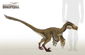 Velociraptor mongoliensis by CamusAltamirano