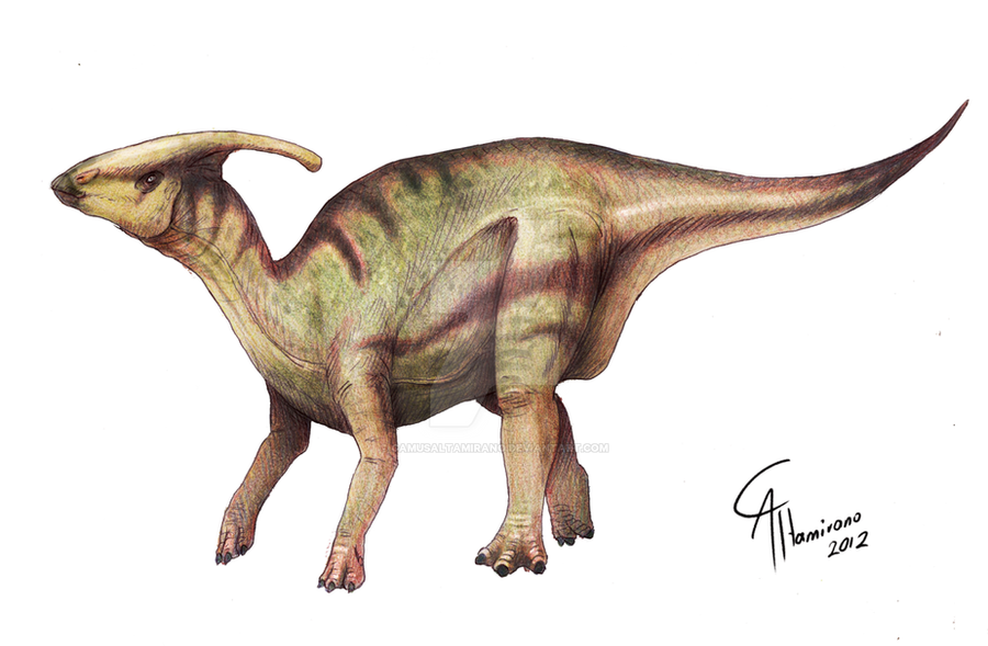 Parasaurolophus Walkeri By Camusaltamirano On Deviantart