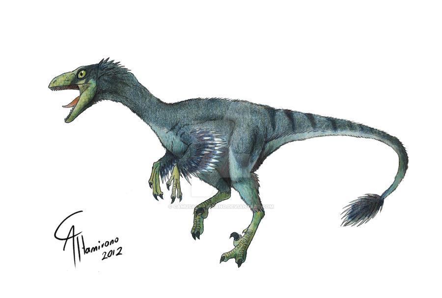 Troodon formosus by CamusAltamirano