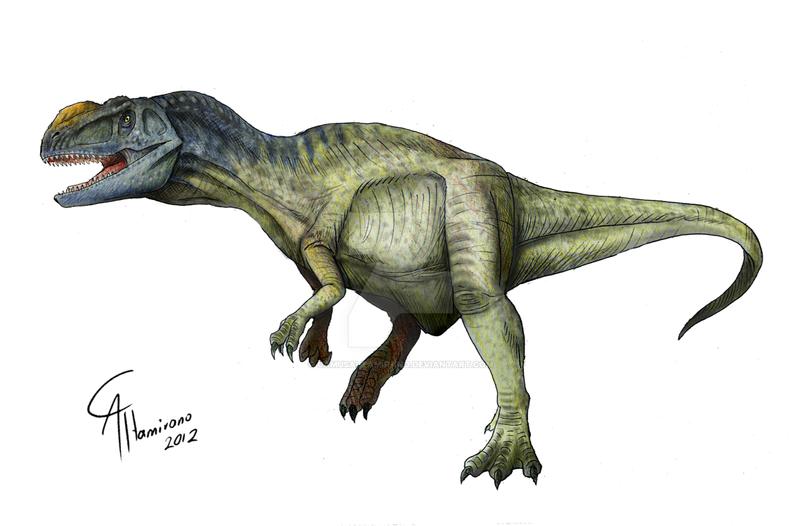 Metriacanthosaurus Metriacanthosaurus par...