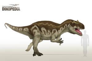 Allosaurus fragilis by CamusAltamirano