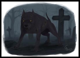 Hellhound by CamusAltamirano
