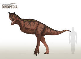 Carnotaurus sastrei by CamusAltamirano