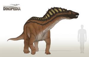 Amargasaurus cazaui by CamusAltamirano