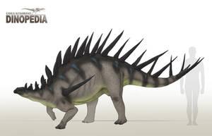 Kentrosaurus aethiopicus by CamusAltamirano