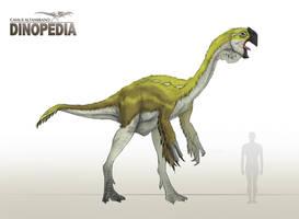 Gigantoraptor erlianensis by CamusAltamirano