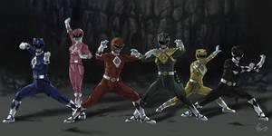 Power Rangers: The original colors movie version